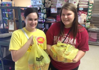 Donated Pet Food and Supplies